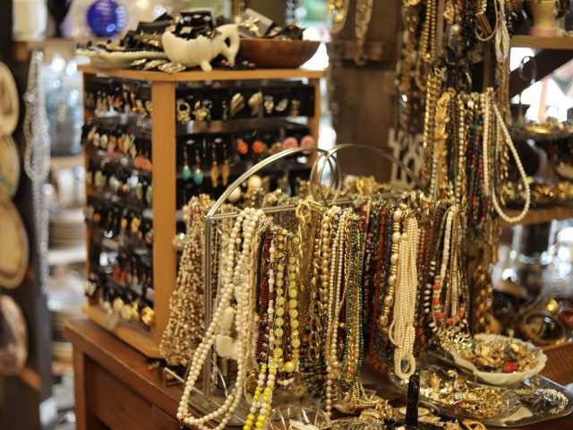 antique necklaces and earrings for sale