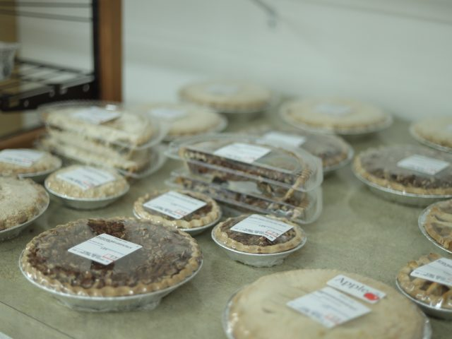 fresh homemade apple and pecan pies for sale