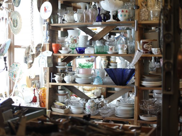 crystal and ceramic bowls and dishes