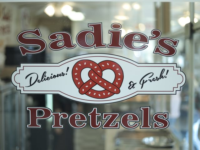 sadie's soft pretzels