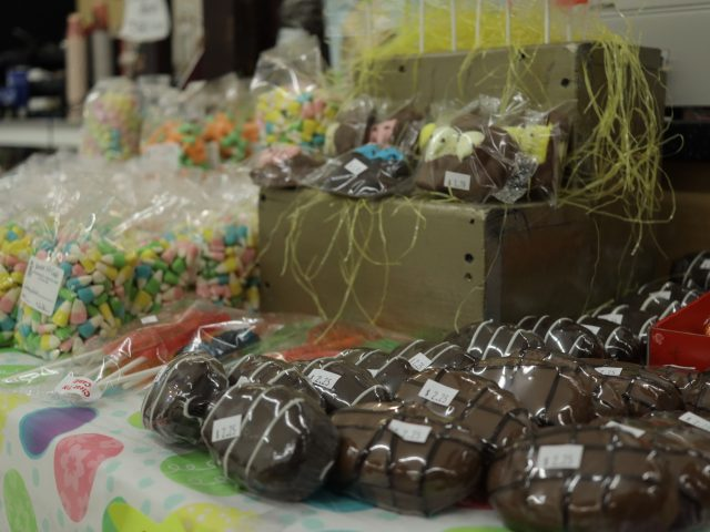 specialty easter candy including chocolate covered eggs for sale