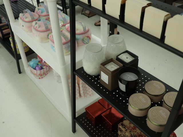 toys and candles for sale